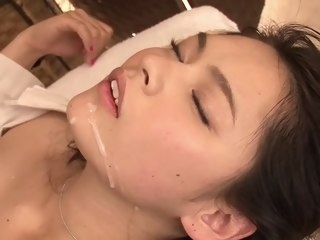 Staggering Japanese comprehensive Yuki Tanihara in Crazy couple JAV movie couple japanese