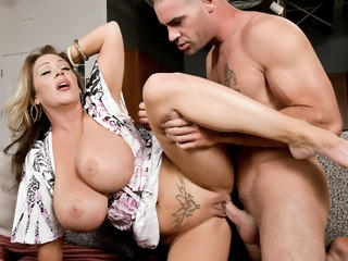 Kandi Cox & Charles Dera in My Friends Hot Mom facial big tits