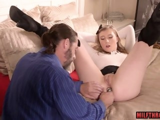 Hot mom anal together with cumshot latina anal
