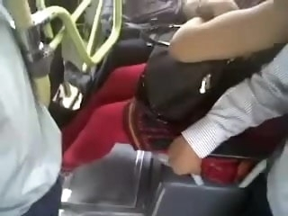 DESI BUS BOOBS TOUCH VOYEUR voyeur hidden camera