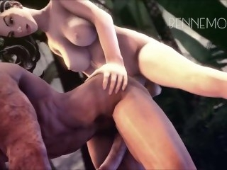 Futa Tops Only compilation anal