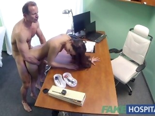 FakeHospital Spanish patient gets creampied big dick amateur