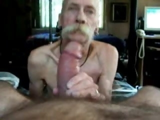 grandpa suck big cock  gay
