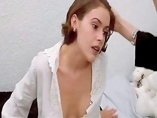 Alyssa Milano - Embrace of put emphasize Vampire pornstar celebrity