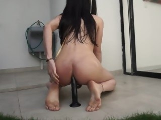 Luna taking transmitted to sun like a total slut masturbation cumshot