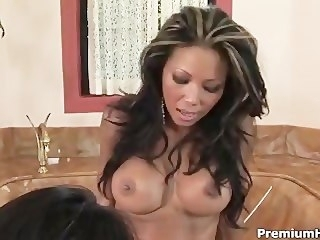 Toying Mya Luanna increased by Teanna Kai lesbian asian