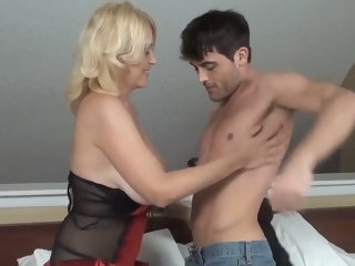 Best birthday present tits blonde