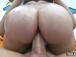 Authentic ANAL Bubble butt Mia Malkova anally gaped mia trueanal