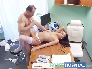 FakeHospital Doctor creampies sexy new heedfulness hardcore brunette