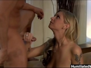 HumiliatedMilfs - This golden milf truly delivers full service blonde humiliatedmilfs