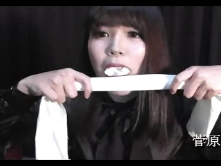 Sugawara Kanon Self Gag bondage asian