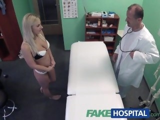 FakeHospital Lecherous healing treatment prescribed big dick amateur