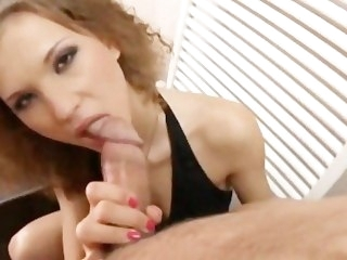 AMWF Juliette Shyn interracial with Asian impoverish brunette babe