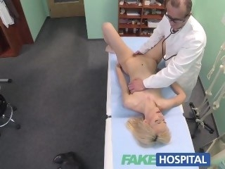 FakeHospital Skinny blonde takes doctors view reality blonde