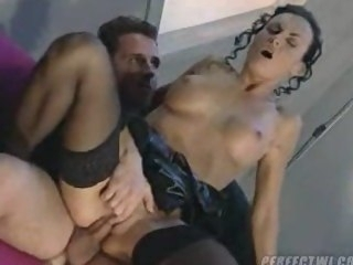 Laura Underwriter gorgeous anal laboratory be hung up on milf hardcore