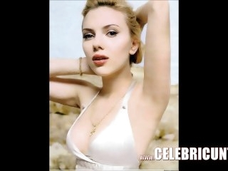 Astonishing Scarlett Johansson Bare Flaunting Juicy Bowels & Pussy HD big tits amateur