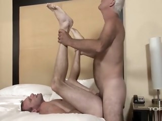 Berker fucks Taylor raw bareback gay
