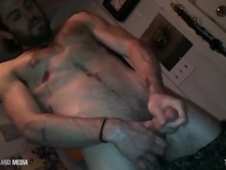 Bong rips and stroking dick stud timjack