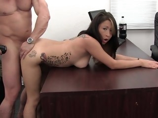 Angellyna Video - BackroomCastingCouch asian anal