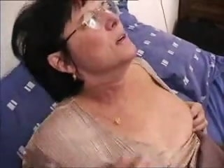 Grandma Wakes Wide Young Man For Anal Action top rated mature