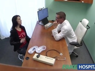 FakeHospital Sexy Russian Instance needs big lasting cock to be strait-laced big tits babe