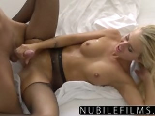 NubileFilms - All She Wants Is Cock And Cum blonde nubilefilms