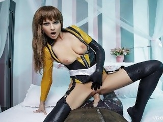 VR Cosplay X Lady-love Tina Kay In Watchmen XXX Parody VR Porn pornstar big tits