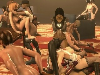 MKX Landed gentry Vs. DOA5 Last Close to Landed gentry (Lesbian/Futanari) transgender big tits