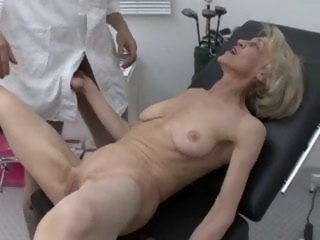 Granny gets an obstacle brush Be in command at an obstacle Doctors hardcore anal