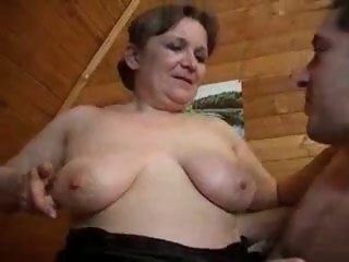 Aged Granny With an increment of Bad Boy granny mature