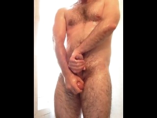 James oils up together with strokes for you! male solo
