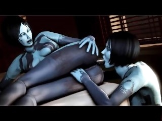 Cortana SFM HMV big tits big dick