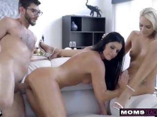 Mom Fucks Step Son & Eats Teen Creampie For Thanksgiving Delectable raven momsteachsex.com