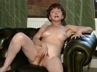 Granny Solo #5 fetish striptease