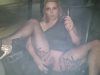 Hotboxing Smoking Matchless masturbation amateur