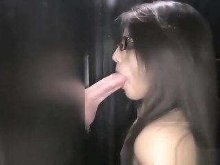 Brooklyn sucks off 14 cocks part 1 blowjob straight