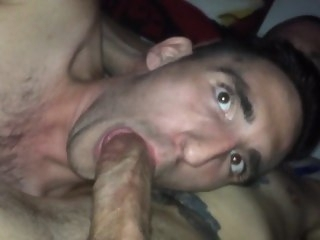 Blowing my older brother. blowjob daddy