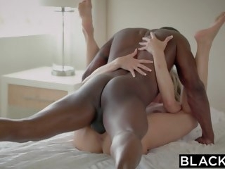 BLACKED First and foremost MILF Brandi Loves First Big Black Blarney blowjob blonde