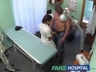 FakeHospital Fit nurse sucks increased by fucks body establisher reality amateur