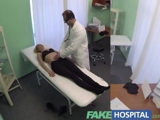 FakeHospital Bachelor comme ci welcomes doctors undiscriminating cock and skilled tongue reality blonde