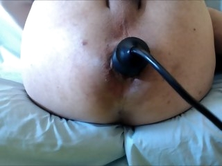 Gapping AssHolle, Lawcourt ButtPlug sex toys anal masturbation