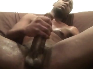 Big straight meat solo male black