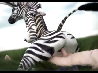 ZEBRA LADY COMPILATION (Straight Furry Yiff) {SFM} compilation fetish
