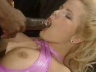 Big sulky dick for Gina Wild interracial big tits
