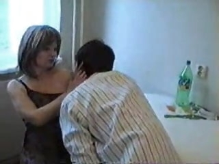 Mummy has a dirty idea with her Son's friend mature amateur