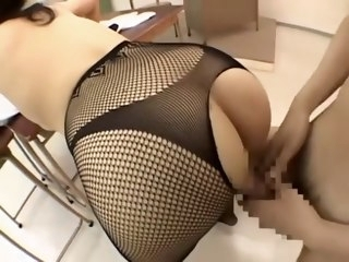 Amazing Japanese prostitute in Staggering Fishnet JAV video japanese milfs