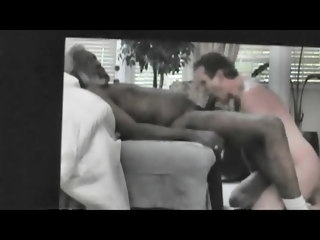 SUCKING BLACK GRANDPA HORSE DICK amateur (gay) man (gay)