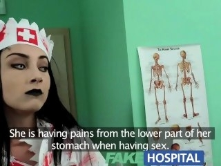FakeHospital Patient shares doctors cock relating to halloween zombie nurse reality pornstar