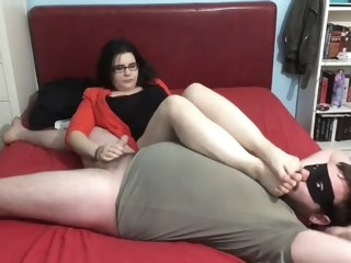 Smelly Foot Smothering straight amateur