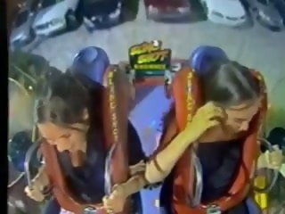 Oops Chunky Boobs & Tits in Roller coasters (Compilation) funny babe
